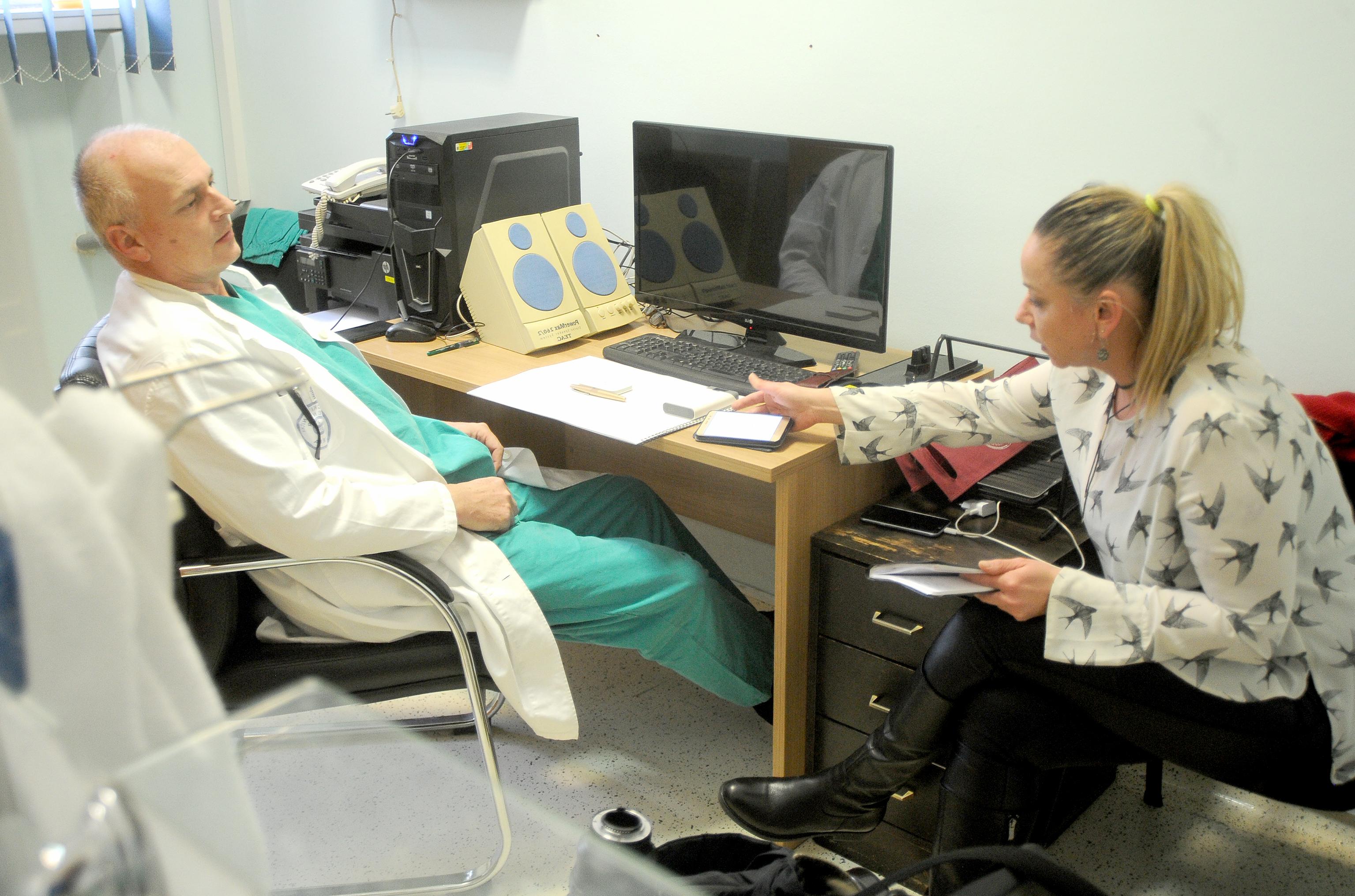 Rade li liječnici s pacijentima