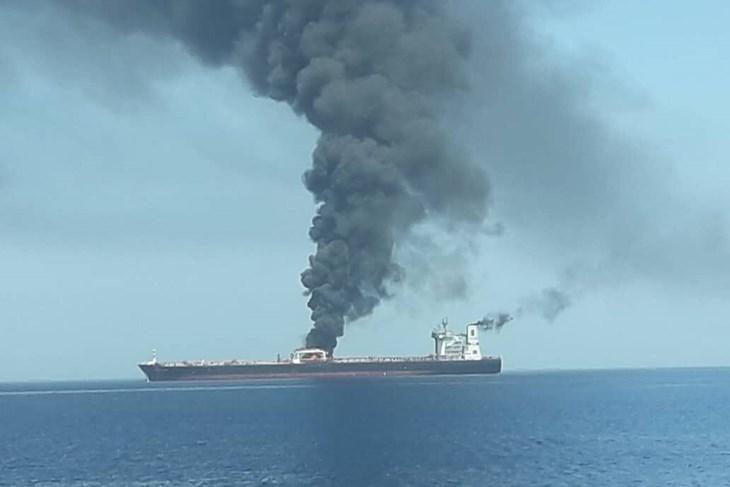 TENZIJE RASTU: Nakon napada na tankere u Omanskom zaljevu, američka vojska objavila snimak