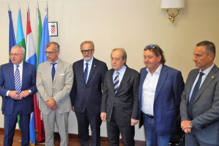 Delegacija talijanske regije Furlanija Julijska krajina posjetila Istarsku županiju