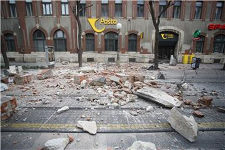 Dosad Najjaci Potres U Zagrebu 6 3 Po Richteru Glas Istre