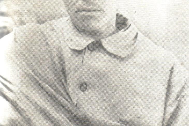 Mate Balota u Hrvatskom listu u Puli početkom 1918.